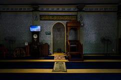Interior de Abdul Gaffoor Mosque Fotos de archivo