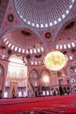 Interior de Ankara, Turquía - de Kocatepe de la mezquita Foto de archivo libre de regalías