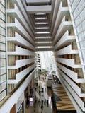 Interior de areias da baía do porto, Singapura, Ásia, Foto de Stock Royalty Free