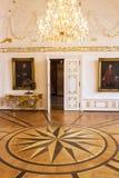 Interior de ayuntamiento de Aquisgr?n, Alemania fotografía de archivo libre de regalías