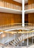 Interior de ayuntamiento de Aarhus (ii), Dinamarca Imagenes de archivo