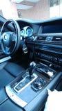 Interior de BMW Imagen de archivo