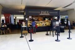 Interior de Charles de Gaulle Airport Imagens de Stock
