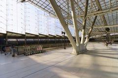 Interior de Charles de Gaulle Airport Fotos de Stock Royalty Free