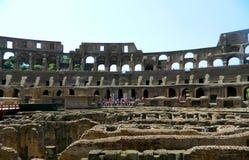 Interior de Colosseum Imagem de Stock