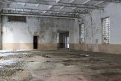 Interior de construção abandonado Fotografia de Stock Royalty Free