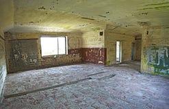 Interior de construção abandonado velho, processamento do hdr. Foto de Stock