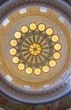 Interior de construção do Capitólio do estado de Utá Fotos de Stock