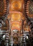Interior de Garde do la de Notre Dame de, Marselha. Imagens de Stock Royalty Free