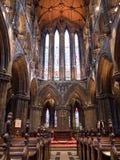 Interior de Glasgow Cathedral Imagen de archivo