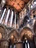 Interior de Glasgow Cathedral Imagen de archivo libre de regalías