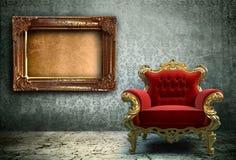 Interior de Grunge Fotografia de Stock