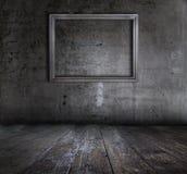 Interior de Grunge con el marco imagen de archivo