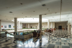 Interior de Habana Libre del hotel fotografía de archivo libre de regalías