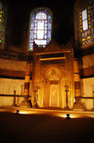 Interior de Hagia Sophia fotografía de archivo libre de regalías