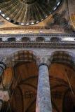 Interior de Hagia Sophia imagem de stock