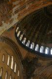 Interior de Hagia Sophia imágenes de archivo libres de regalías