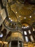 Interior de Hagia Sophia Foto de Stock Royalty Free