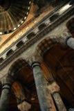 Interior de Hagia Sophia fotografía de archivo