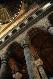 Interior de Hagia Sophia fotografia de stock