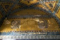 Interior de Hagia Sophia en Estambul, Turquía Imagenes de archivo