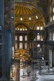 Interior de Hagia Sophia, Estambul Fotografía de archivo