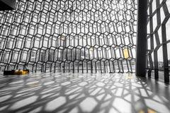 Interior de Harpa Foto de Stock Royalty Free
