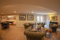 Interior de hogares americanos en Maryland, los E.E.U.U. imagen de archivo libre de regalías