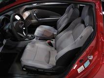 Interior de Honda CR-Z Fotos de archivo libres de regalías