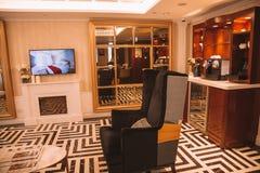 Interior de Hong Kong Hollywood Hotel Foto de Stock Royalty Free