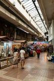 Interior de Kuala Lumpur Central Market Fotografía de archivo