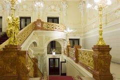 Interior de la ópera Fotografía de archivo libre de regalías