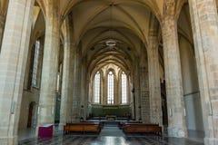 Interior de la abadía famosa de Emmaus en Praga Imágenes de archivo libres de regalías