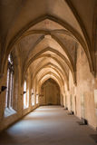 Interior de la abadía famosa de Emmaus en Praga Fotos de archivo libres de regalías