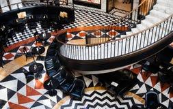 Interior de la alameda de compras Imagen de archivo