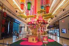 Interior de la alameda de compras de la avenida K Imagen de archivo