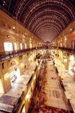 Interior de la alameda de compras de la GOMA de Moscú Foto de archivo