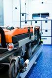 Interior de la ambulancia Imagen de archivo