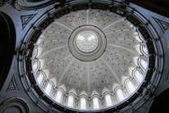 Interior de la bóveda de la capilla de la Academia Naval de Estados Unidos Imagen de archivo