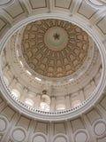 Interior de la bóveda del capitolio de Tejas Fotografía de archivo