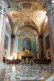Interior de la basílica de St Mary de los ángeles y del Marty Imágenes de archivo libres de regalías
