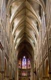 Interior de la basílica en Echternach Fotografía de archivo libre de regalías