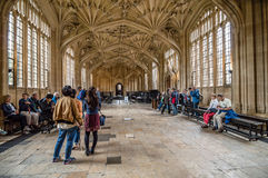 Interior de la biblioteca de Bodleian Fotografía de archivo libre de regalías