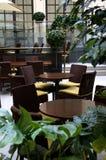 Interior de la cafetería Imagen de archivo libre de regalías