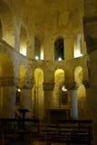 Interior de la capilla de San Juan en Londres. Fotos de archivo