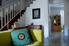 Interior de la casa Fotos de archivo libres de regalías