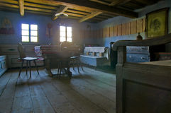 Interior de la casa de campo Imágenes de archivo libres de regalías