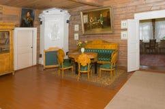 Interior de la casa del comandante Foto de archivo libre de regalías