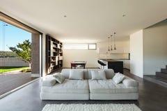 Interior de la casa, sala de estar Fotografía de archivo