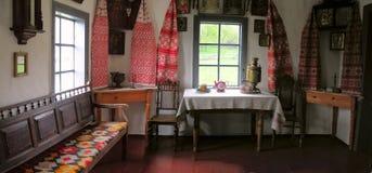 Interior de la casa vieja Imágenes de archivo libres de regalías